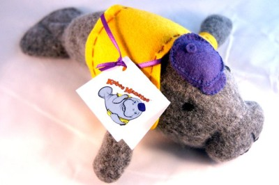 Kobee Manatee Hand-Made Plush Toy
