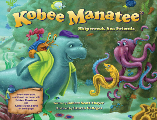 Kobee Manatee® : Shipwreck Sea Friends