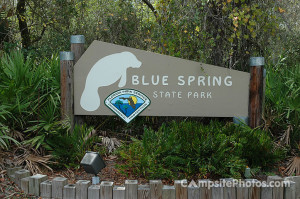 Blue Spring State Park Sign