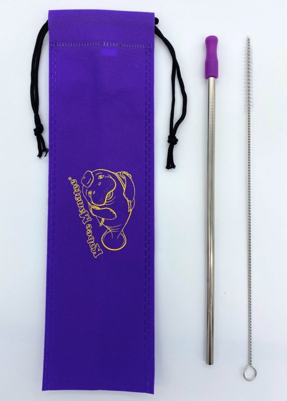 Kobee Manatee® Reusable Stainless Steel Straw