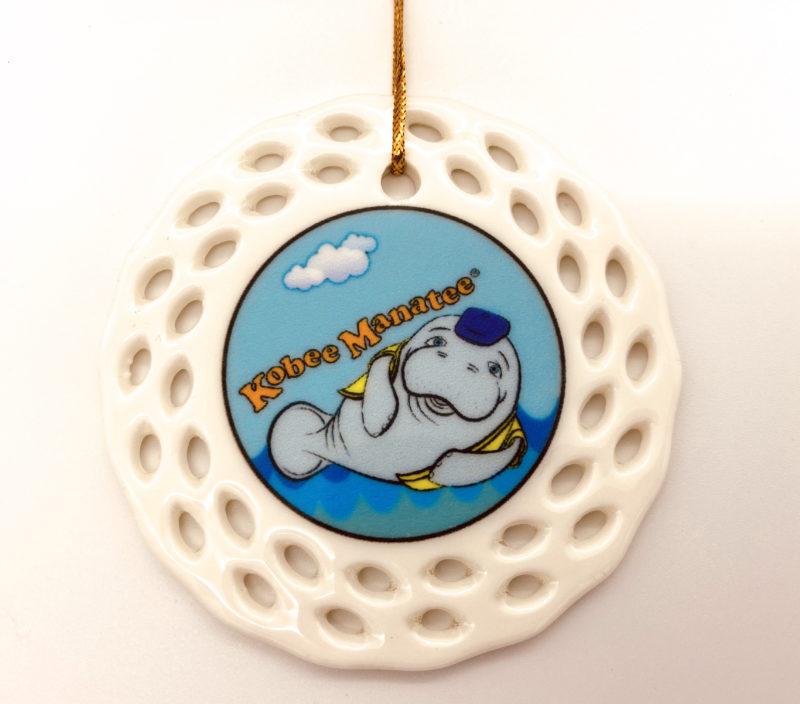 Kobee Manatee® Ornament